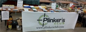 Plinkers Club Gun Show Table