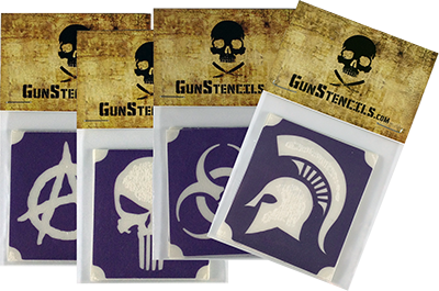 Gunstencils.com punisher anarchy